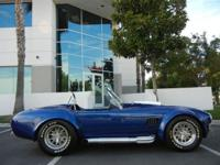 Blue Cobra Superformance MkIII cobra SPF#2799 Built