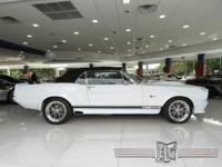 This 1968 Shelby GT500E Eleanor Convertible features a