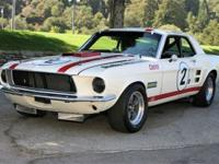 1967 Shelby Trans-Am Mustang VIN: 7RC1K188183 One of