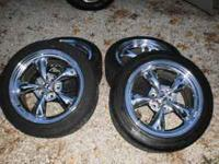 Shelby Rims & 245/45R17 Bridgestone Potenza Tires 4