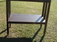 Nice shelf good for your TV. $30.00  Location: Munford