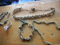 Shell Bracelets - Necklace - Belt $20.00   // //]]>