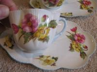 I am selling a lot of Shelley tea cups and snack