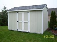 ShelterLogic 10x10x8 Portable Garage Shed Firewood