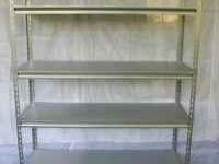 Shelving Units 6 shelves 48x18x84 inches. very strong