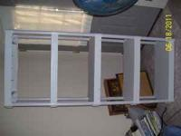 Have a nice 5 tier shelving unit. It is heavy plastic