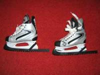 Sher-Wood Junior Size 4 hockey skates. Only used a