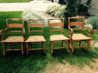 These are country Sheraton style chairs, originally