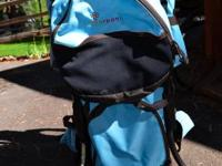 Great knapsack and children provider. Has sun shade and