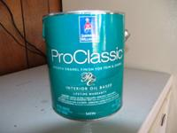 For sale: Brand new gallon of Pro-Classic Sherwin