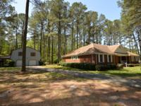 Brick Ranch with Over sized Detached Garage on 3 Acres