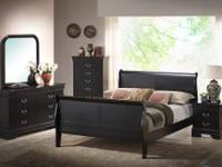 A sturdy, stylish, economical bedroom set for any
