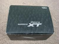 Unused, like new condition: Shimano Deore XT FD-M770