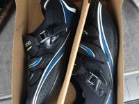 Shimano R087 Road Bike Shoes Size 48.  I bought these