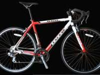 Brand NEW Shimano Road Racing Bike Red Color - in box -