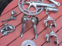 Shimano Ultegra 9 speed gruppo in very good condition.