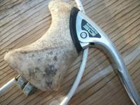 Shimano SLR? or SLX I believe it says on the lever, for