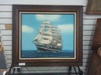 A nice bright painting! Can be seen at: Estate Sales