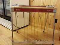This is a classic sho bud pedal steel guitar. The