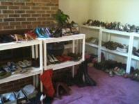 I am holding a footwear sale at my residence starting
