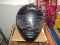 Black Shoei RF-1100 Helmet is DOT Approved