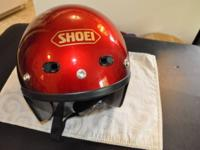 Great Helmet! Red Size Small Comes with Removable