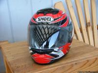 This Shoei helmet is in Great Condition. Helmet has