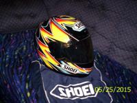 I have a Shoel motercycle Helment for sale for $150.00