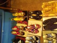 Shoes for sale in good condition. size 8 to 8/12 the