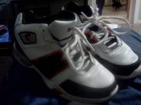 Size 3 basketball shoes. SHAQ good shape. $5 obo  //