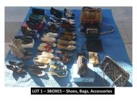 LOT 1  3 Boxes - GREAT FOR ONLINE SELLERS! Shoes,