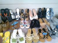 I have 161 different pairs of shoes sizes ranging from