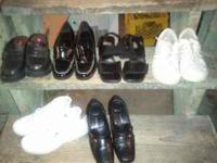 variety of shoes size 7 good condition. please call  or