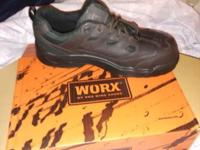 Worx - Red Wing Shoes - Steel Tip - Size 10 1/2. Brand