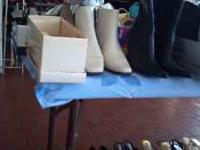 Brand name shoes boots size 6/12 -7.00 71/2 worth each