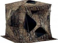 Hunting blind in case. Used once. Like new condition.