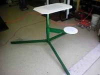 This is a portable shooting table, its like new. if
