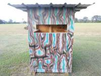 shooting house just built it. $250.00  Location: