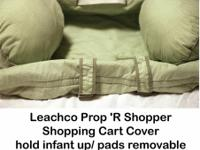 Outstanding shopping cart cover by Leacho.  Fresh