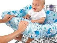 The Bright Starts Comfort & Harmony Shopping Cart Cover