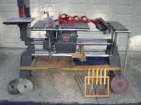 SHOPSMITH MARK V complete with bandsaw, jointer, disc