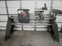 "Shopsmith Mark V 10"" table saw, 34"" lathe, Horizontal"