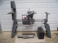 Excellent Condition, with band saw, joiner, lathe