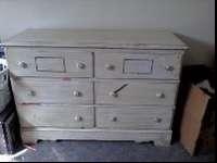 This dresser is a little old but in good conditions, if