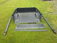 Bedliner came out of a 2002 short bed gmc Comes with
