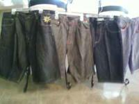 NICE MEN SHORTS SIZE 36 $15 EACH.  Location: MONTGOMERY