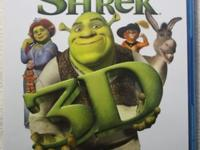 Up for sale is SHREK 3D Blu-ray Complete set Collection