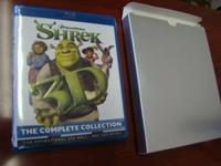 Shrek The Complete Collection 1-4 Full 3D Blu-Ray HD