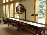 We hold shuffleboards in sizes from 9' to 22' to