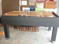 Sportcraft Shuffleboard table in good condition. Please